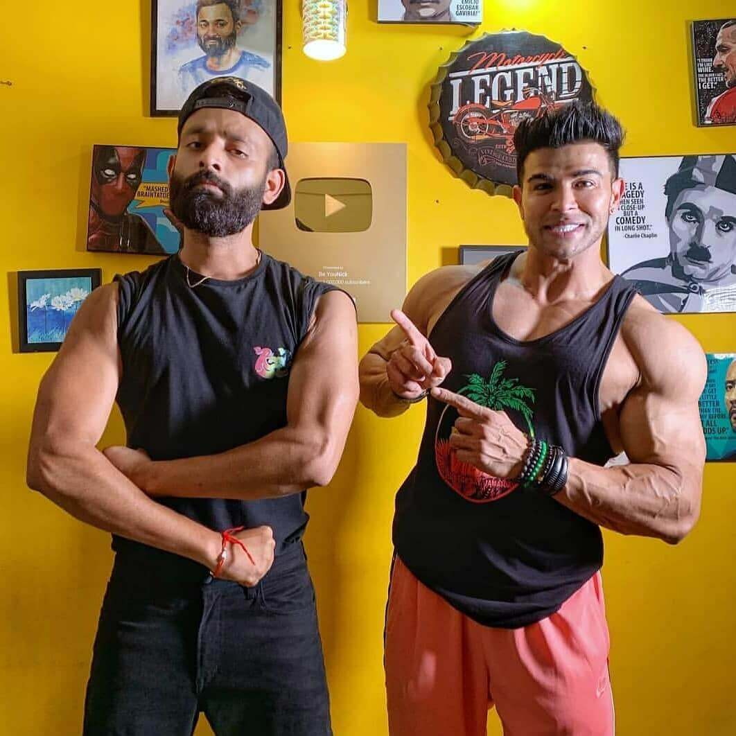 sahil khan and beyounick